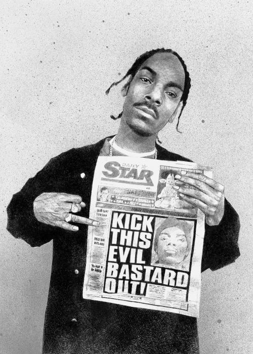 Snoop Dogg par Petrol